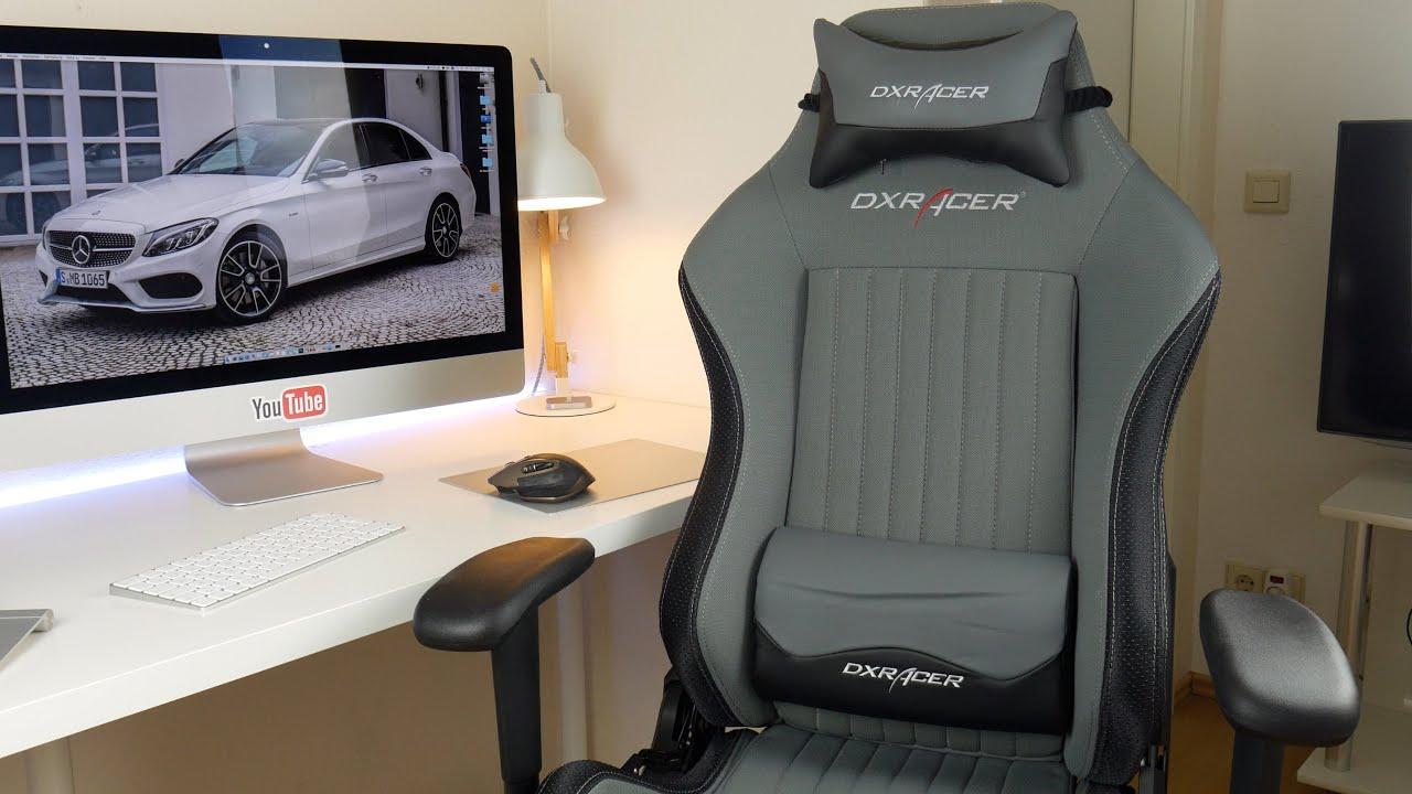 bester stuhl dxracer gaming stuhl review test youtube. Black Bedroom Furniture Sets. Home Design Ideas