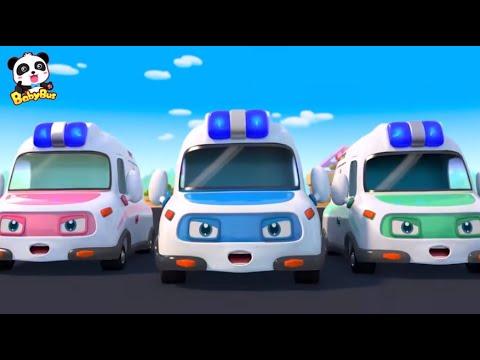 Скорая🚑 спешит на помощь | Машинка Скорая Помощь | Сборник мультиков и песенок для детей | BabyBus