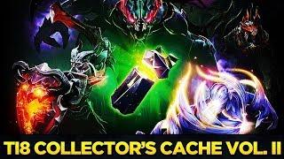 The International 2018: Collector's Cache II Открытие 11 штук.