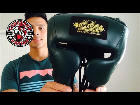 Top Boxer Gladiator Mexican Style Headgear REVIEW- GREAT HEADGEAR AT UNBEATABLE PRICE!