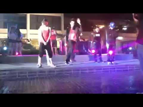 Bass faction dance show melawati k club near zoo negara for Pool dance show