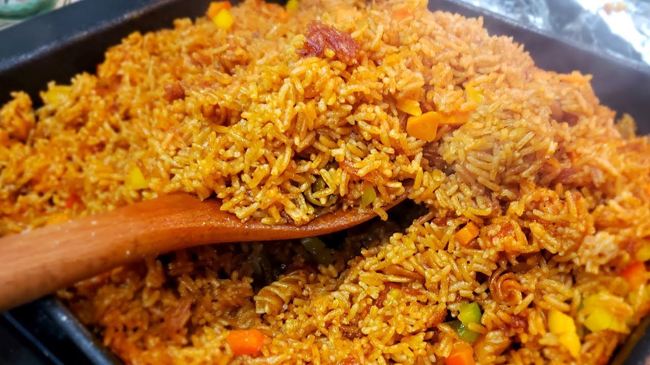 Quick Ghana Jollof Rice | StellaZone - YouTube
