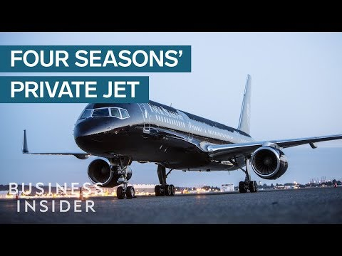 Four Seasons will fly you in a private jet around the world