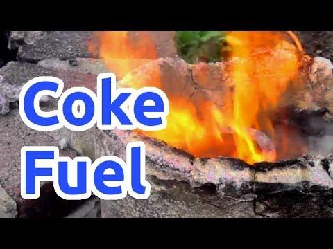 Making Coke Fuel For Melting Metals
