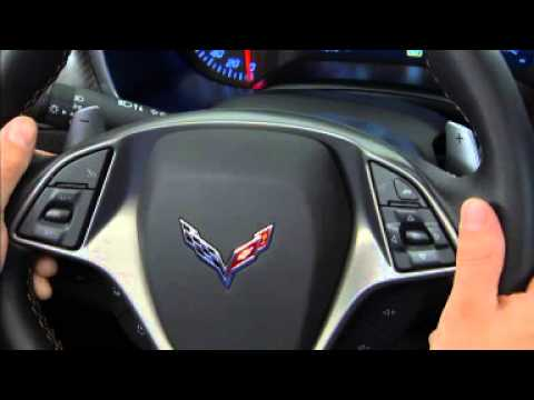 2014 Chevy Corvette Stingray Video: How to use the ...