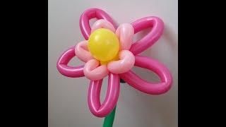 Как сделать лотос из шаров, цветок лотоса из ШДМ/the Lotus of the balls