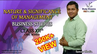 Video Class 12 Business Studies | Nature & Significance of Management -   by Sameer Bhatia Sir download MP3, 3GP, MP4, WEBM, AVI, FLV Oktober 2018
