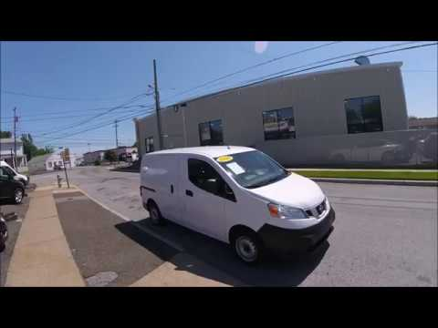 2014 White /Gray Nissan NV200 S (3N6CM0KN4EK) with an 2.0L L4 DOHC 16V engine, Continuously Variable Transmission transmission, located at 577 Chester Pike, Prospect Park, PA, 19076, (610) 237-1015, 39.886154, -75.302338 - Photo #0