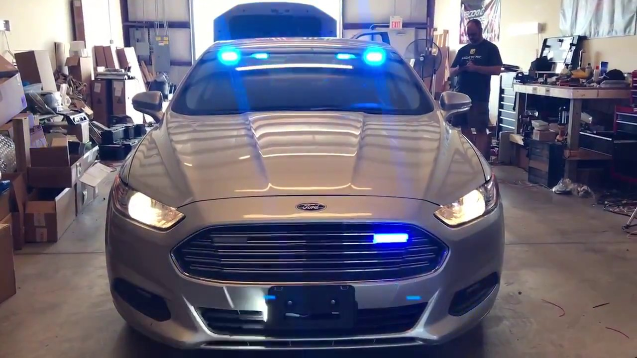 2016 Ford Fusion Detective S Vehicle Build