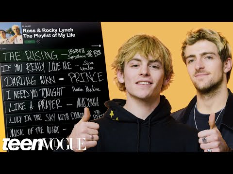 Ross and Rocky Lynch Create The Playlist of Their s  Teen Vogue