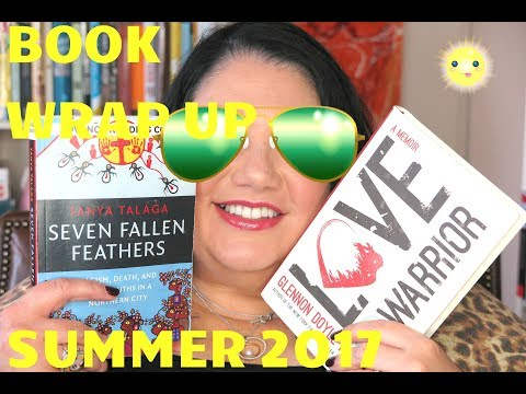 SUMMER Reading Wrap UP 2017 - July/ August Books Read #CandyReads