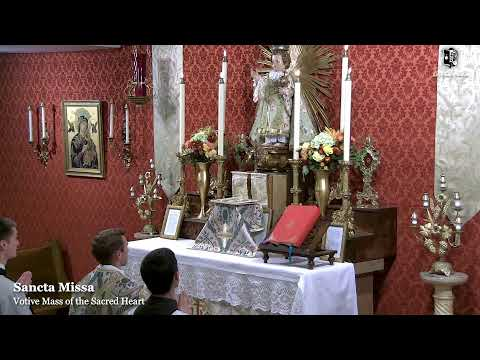 Holy Mass, First Friday: 8:00 PM EASTERN TIME (ET)