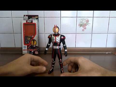 Kamen Rider Faiz 555 Review