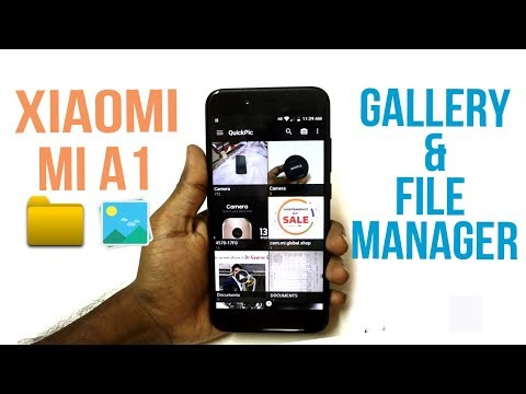 Gallery And File Manager for Xiaomi Mi A1 |Hindi |