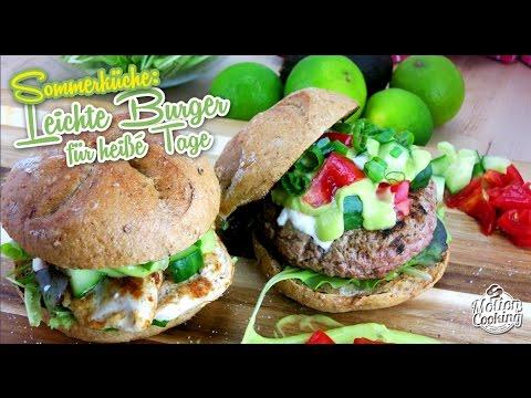 Veggie Sommerküche : Sommerküche leichte sommer burger youtube
