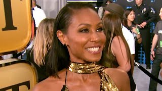 EXCLUSIVE: Jada Pinkett Smith Gets 'Mushy' When Will Smith Visits Set: 'I Just Feel Taken Care Of'