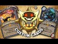 TOP CUSTOM CARDS OF THE WEEK #24 | Card Review | Hearthstone