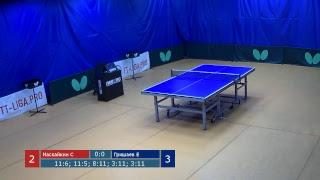 Настольный теннис. Лига Про. Турнир 10 декабря 2018г. Муж. Рейтинг 550+. Часть 2