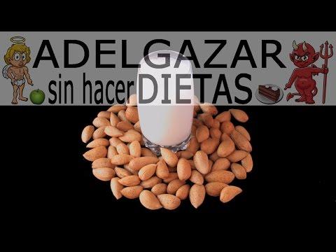 LECHE DE ALMENDRAS # ADELGAZAR SIN HACER DIETAS