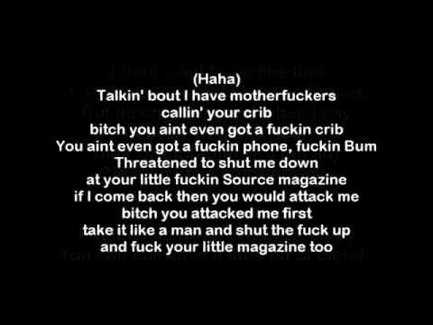 Eminem Nail In The Coffin Benzino/ Vanilla ice Diss (Lyrics)