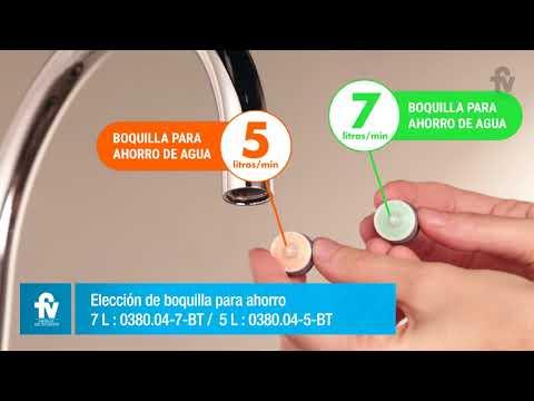 Cómo Colocar La Boquilla Para Ahorro De Agua En La Grifería Monocomando Línea FV Temple Para Cocina