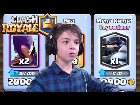 MEGA KNIGHT & WITCH IN SHOP - Clash Royale
