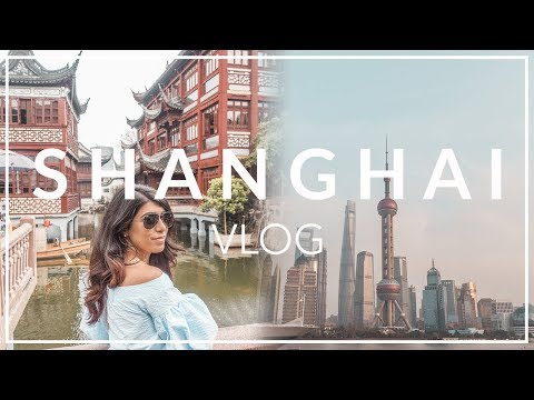 OUR FIRST WEEK IN SHANGHAI, CHINA, THE POWERHOUSE OF ASIA | TRAVEL VLOG 航拍上海陆家嘴,外滩