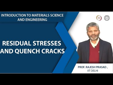 Residual Stresses and Quench Cracks