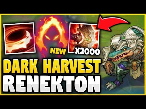 WTF! RENEKTON CAN ONE-SHOT ANYONE FROM A MILE AWAY NOW?! BEST CHAMP IN SEASON 9! - League of Legends