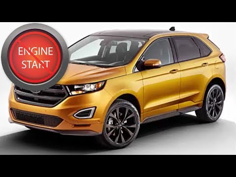 Ford Edge Opening And Starting Push Button Start Models With A Dead Key Fob Battery