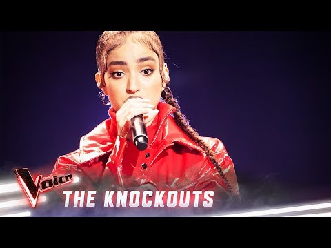 The Knockouts: Lara Dabbagh sings 'Umbrella' | The Voice Australia 2019