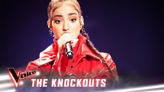 The Knockouts: Lara Dabbagh sings 'Umbrella' | The Voice Australia 2019