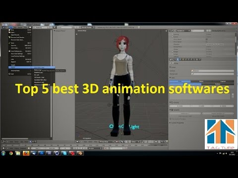 Top 5 Best 3D Animation Softwares  YouTube