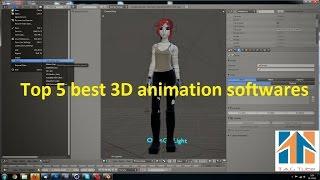 Top 5 Best 3D Animation Softwares