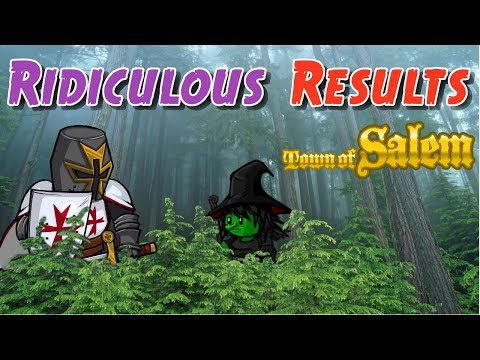 MOST RIDICULOUS RESULTS | Town of Salem Coven Ranked Practice