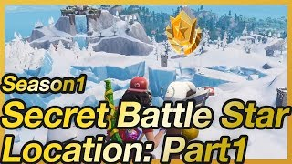 Fortnite - Season 7 Week 1 Secret Battle Star Location