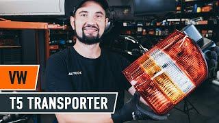 Монтаж на Маншон За Кормилна Рейка VW TRANSPORTER IV Bus (70XB, 70XC, 7DB, 7DW): безплатно видео