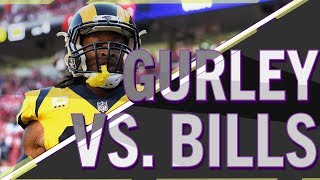 Will Todd Gurley outscore the Bills on Sunday? | PROPS