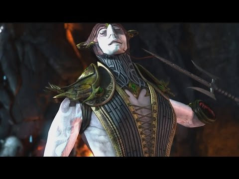 Mortal Kombat X: Shinnok and Mileena Swap Fatalities,Brutalities,Intros and Outros
