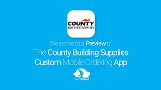 County Building Supplies - Mobile App Preview - COU960W