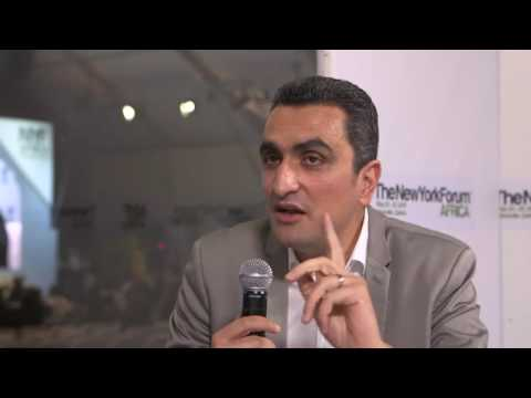 Hicham Lahlou Designer - Interview // New York Forum Africa 2014