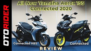 All New Yamaha Aerox 155 Connected 2020 - Review Indonesia | OtoRider