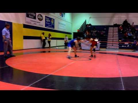 2014 Ontario Juvenile Championships: 52 kg Iva Mema vs. Mikayla Jerald