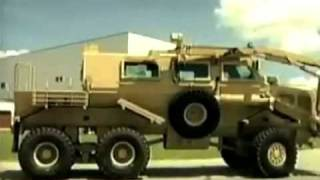 US Buffalo Mine Protected Vehicle
