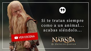 Las Crónicas de Narnia - Si te tratan siempre como a un animal... acabas siéndolo...