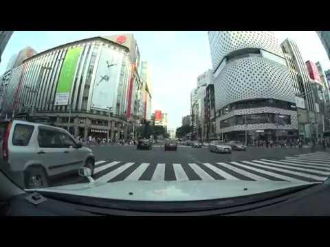 Tokyo drive 4K 早稲田 豊洲 都内ドライブ 2017