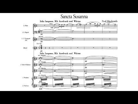 Paul Hindemith - Sancta Susanna (1921)