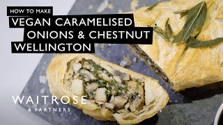 Vegan Caramelised Onion & Chestnut Wellington | Waitrose & Partners