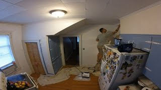 Priming The Kitchen Walls & Celebrating National Wine Day At The Same Time!!! (2.18.2016)