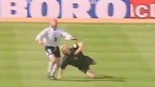 Paul Gascoigne GAZZA all career goals (almost)